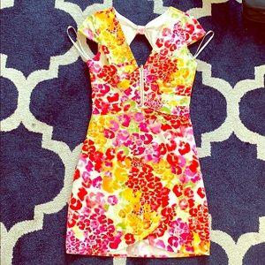 Guess flower dress